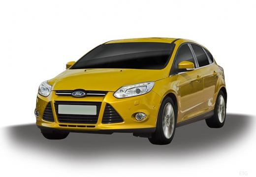 FORD Focus V hatchback żółty