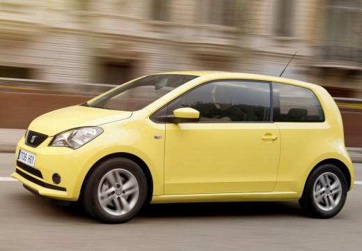 SEAT Mii hatchback żółty przedni lewy