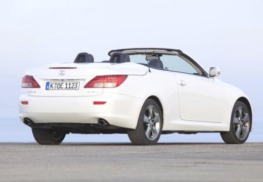 LEXUS IS C kabriolet biały tylny prawy