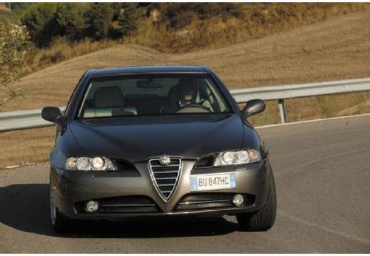 ALFA ROMEO 166 sedan szary ciemny przedni