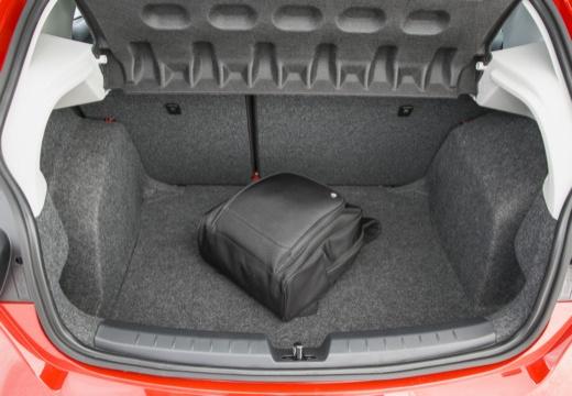 SEAT Ibiza VII hatchback przestrzeń załadunkowa