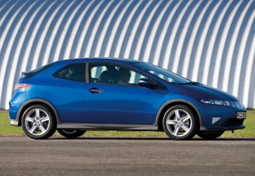 HONDA Civic VI hatchback niebieski jasny przedni prawy