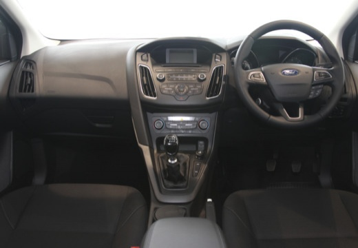FORD Focus VI hatchback silver grey tablica rozdzielcza