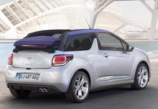 CITROEN DS3 Cabrio kabriolet silver grey tylny prawy