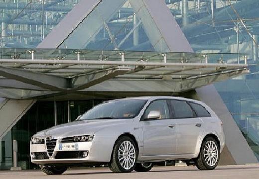 ALFA ROMEO 159 kombi silver grey
