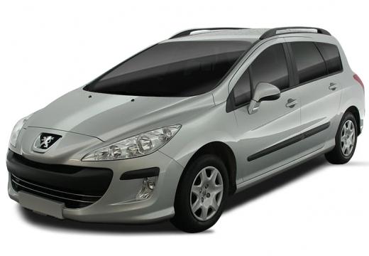 PEUGEOT 308 I hatchback silver grey
