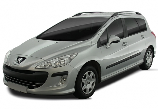 PEUGEOT 308 I kombi silver grey