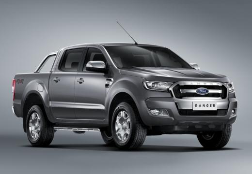 FORD Ranger pickup szary ciemny przedni prawy