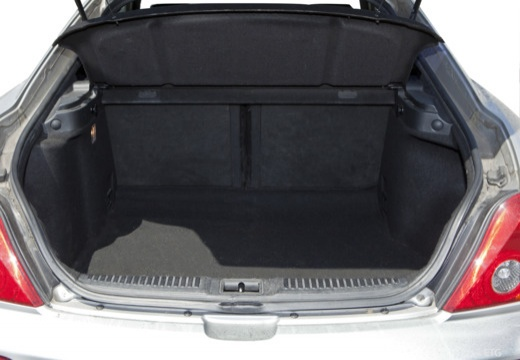 HYUNDAI coupe silver grey przestrzeń załadunkowa