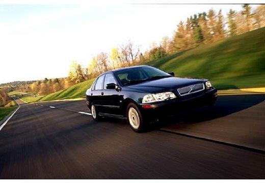 VOLVO S40 III sedan zielony przedni prawy