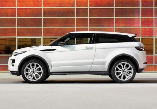 LAND ROVER Range Rover Evoque I kombi biały boczny lewy