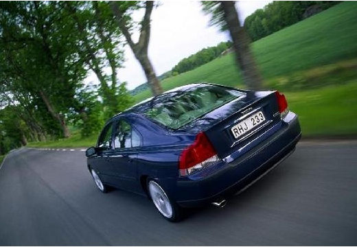 VOLVO S60 I sedan niebieski jasny tylny lewy