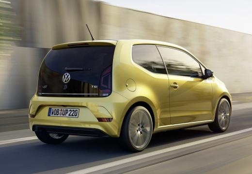 VOLKSWAGEN up II hatchback złoty tylny prawy