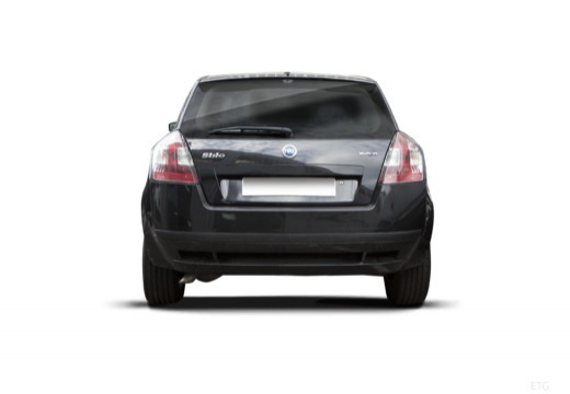 FIAT Stilo II hatchback czarny tylny