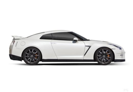 NISSAN GT-R coupe boczny prawy
