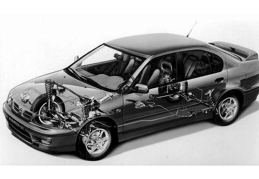 NISSAN Primera II hatchback prześwietlenie