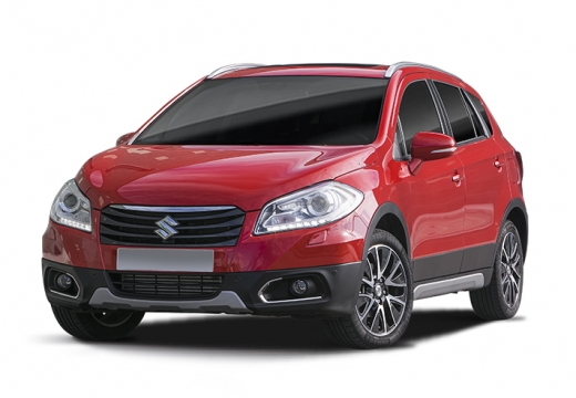 SUZUKI SX4 S-cross I hatchback czerwony jasny
