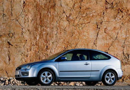 FORD Focus III hatchback niebieski jasny boczny lewy