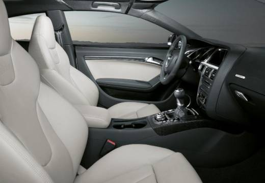 AUDI A5 I coupe silver grey wnętrze