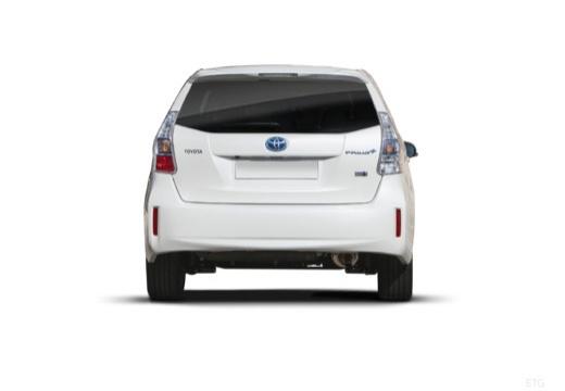 Toyota Prius kombi biały tylny