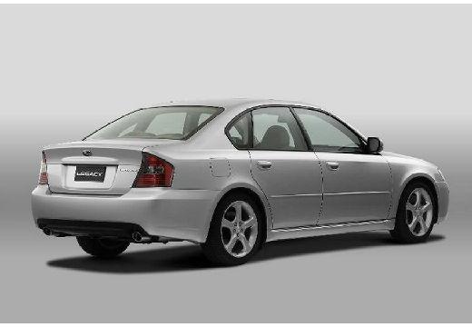 SUBARU Legacy VI sedan silver grey tylny prawy