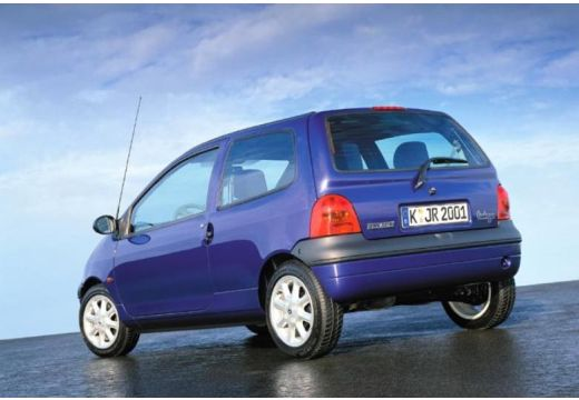 RENAULT Twingo II hatchback niebieski jasny tylny lewy
