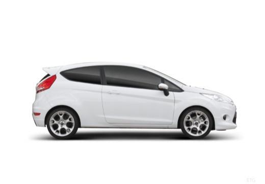 FORD Fiesta VII hatchback biały boczny prawy