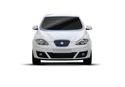 SEAT Altea II hatchback biały przedni