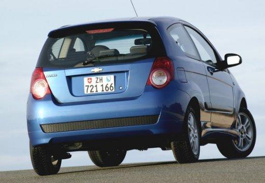 CHEVROLET Aveo II hatchback niebieski jasny tylny prawy