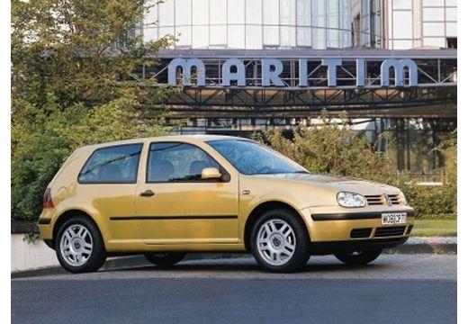 VOLKSWAGEN Golf IV hatchback żółty przedni prawy