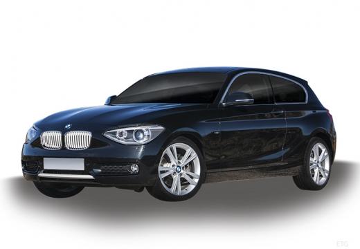 BMW Seria 1 F21 I hatchback niebieski jasny