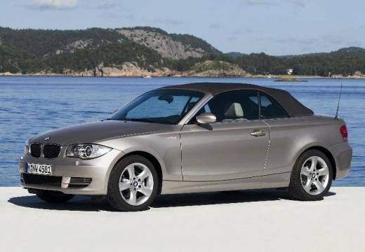 BMW Seria 1 kabriolet silver grey