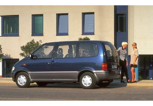 NISSAN Serena 1.6 SLX Van I 97KM (benzyna)