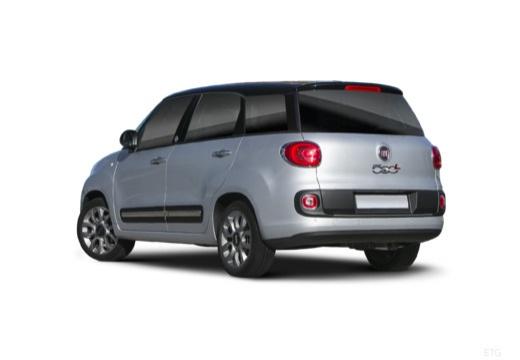 FIAT 500 L Living kombi silver grey tylny lewy