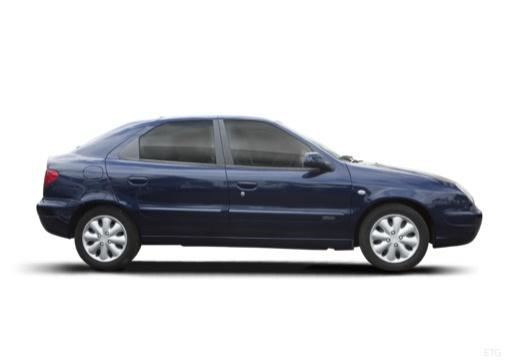 CITROEN Xsara II hatchback boczny prawy