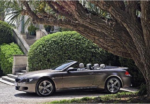 BMW Seria 6 Cabriolet E64 I kabriolet szary ciemny przedni lewy