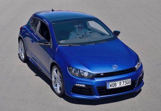 VOLKSWAGEN Scirocco III I coupe niebieski jasny przedni prawy