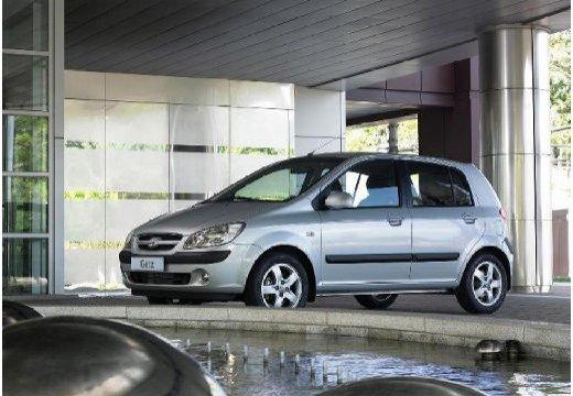 HYUNDAI Getz II hatchback silver grey