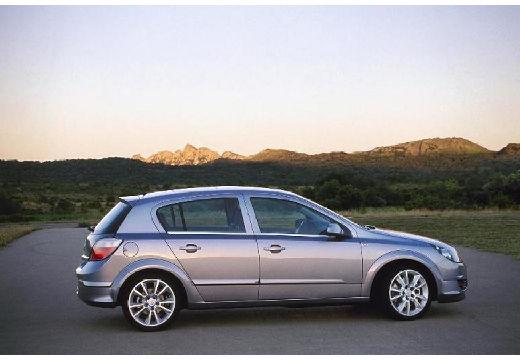 OPEL Astra III I hatchback silver grey boczny prawy