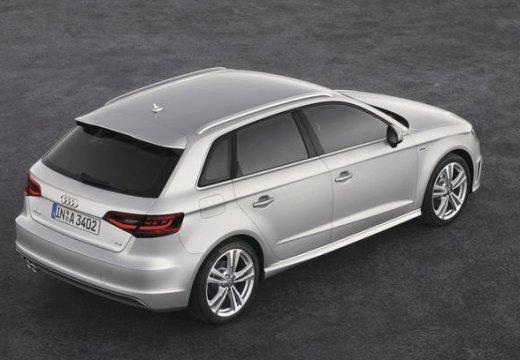 AUDI A3 Sportback 8V I hatchback silver grey tylny prawy