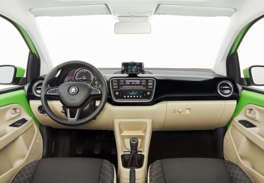 SKODA Citigo II hatchback zielony tablica rozdzielcza