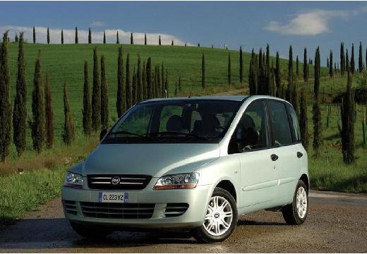 FIAT Multipla II kombi zielony jasny przedni lewy