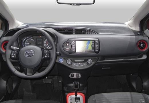 Toyota Yaris VII hatchback tablica rozdzielcza