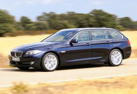 BMW Seria 5 Touring F11 I kombi niebieski jasny przedni lewy