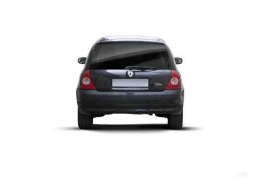 RENAULT Clio II III hatchback czarny tylny