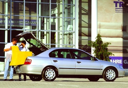 HONDA Accord Liftback hatchback silver grey tylny prawy