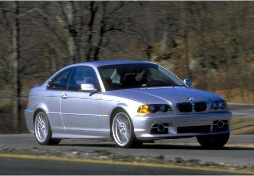 BMW Seria 3 E46 coupe silver grey przedni prawy