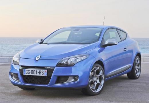 RENAULT Megane III Coupe I hatchback niebieski jasny przedni lewy