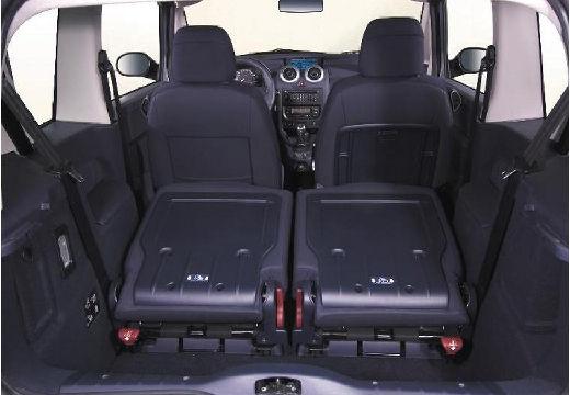 PEUGEOT 1007 I hatchback szary ciemny przestrzeń załadunkowa