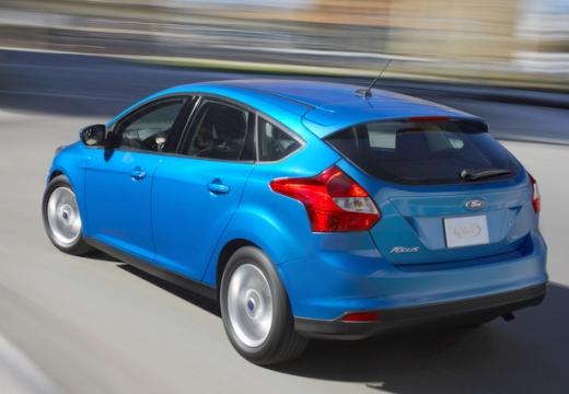 FORD Focus V hatchback niebieski jasny tylny lewy